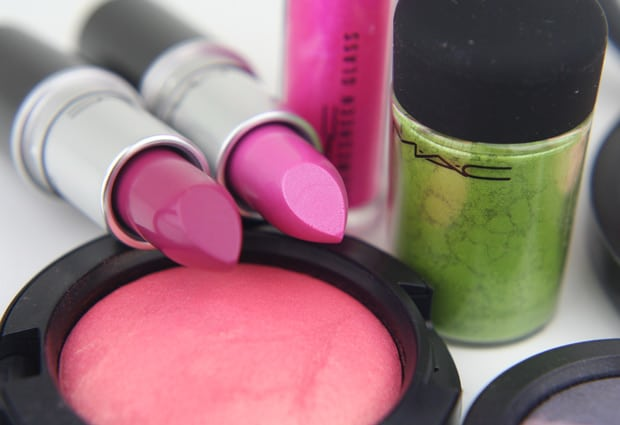 MAC Fantasy Flowers 3 MAC A Fantasy Of Flowers   swatches and review