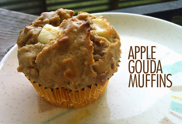 Apple and Gouda Muffin Recipe