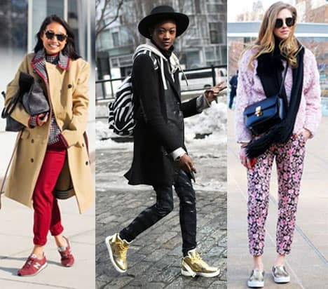She's Got the Look: Stylish Sneakers