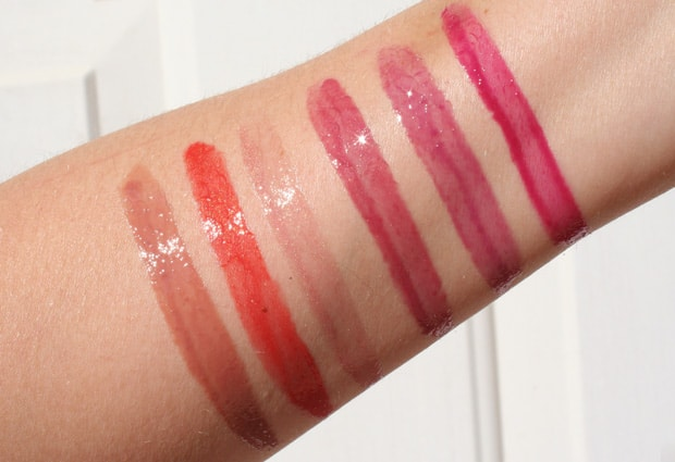 milani brilliant lip gloss 7 Milani Brilliant Shine Lip Gloss   Swatches and Review