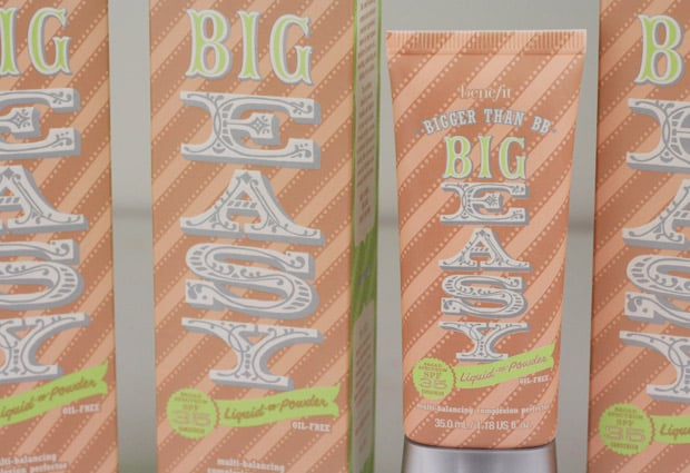 Benefit Big Easy 1 Benefit The Big Easy   Reviews and Swatches