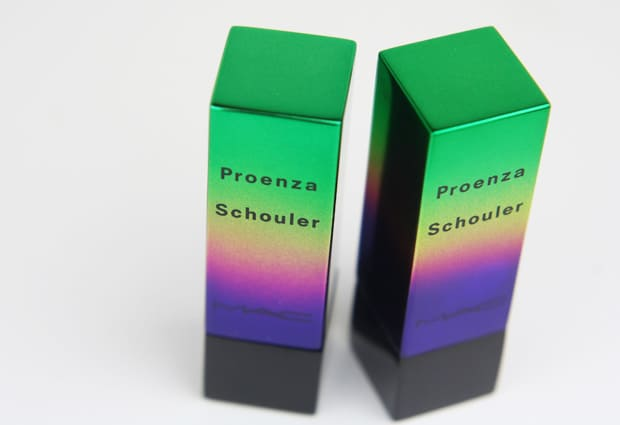 MAC Proenza Schouler 4 MAC Proenza Schouler swatches and review