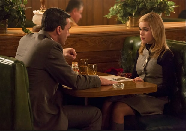 Mad Men A Days Work DIner Mad Men Musings: A Day's Work