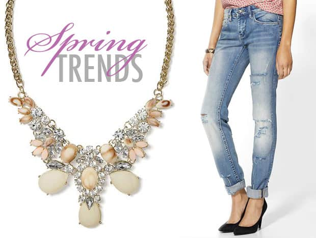 Spring 2014 Fashion Trends Five Spring Fashion Trends to Buy Right Now