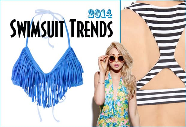 2014 swimsuit trends Summer 2014 Swimsuit Trends