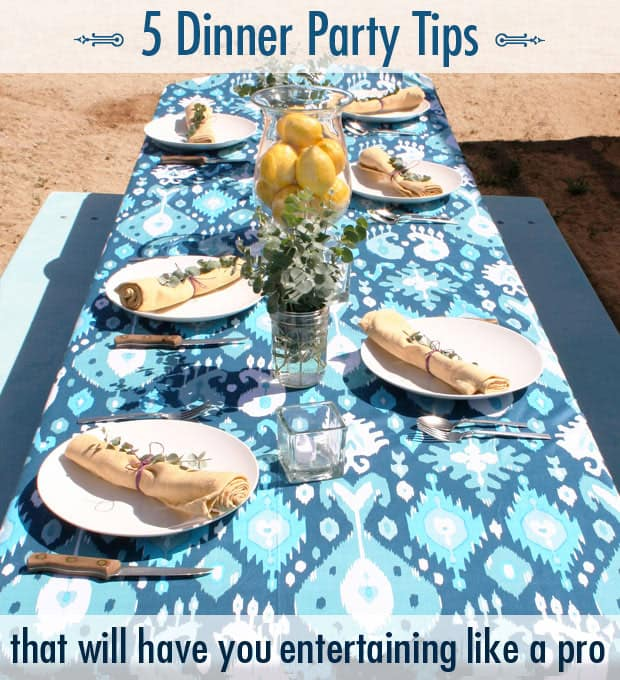 5 Dinner Party Tips A Having a Dinner Party? Tips You Need to Know...