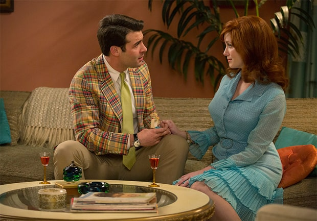 Mad Men Bob Joan Mad Men Musings: The Strategy
