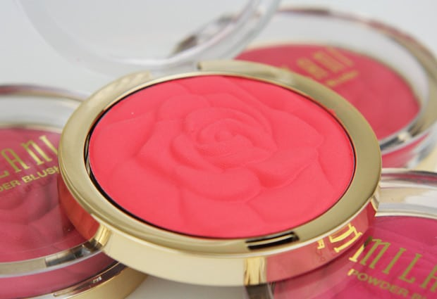 Milani Rose Powder Blush – Review and Swatches