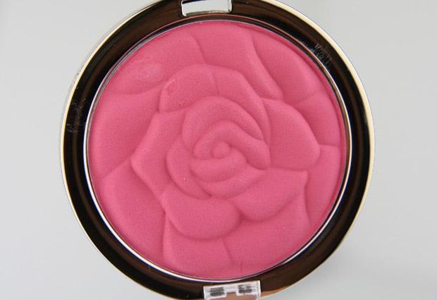 Milani Rose Blush 6 Tea Rose Milani Rose Powder Blush   Review and Swatches