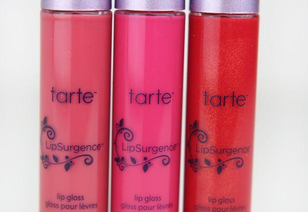 tarte lipsurgence 5 tarte LipSurgence Lip Gloss   Swatches and Review