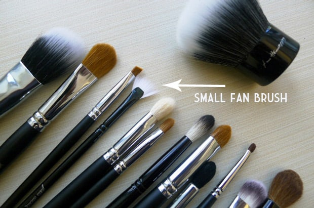 Crown Brush Makeup Show Brush collection