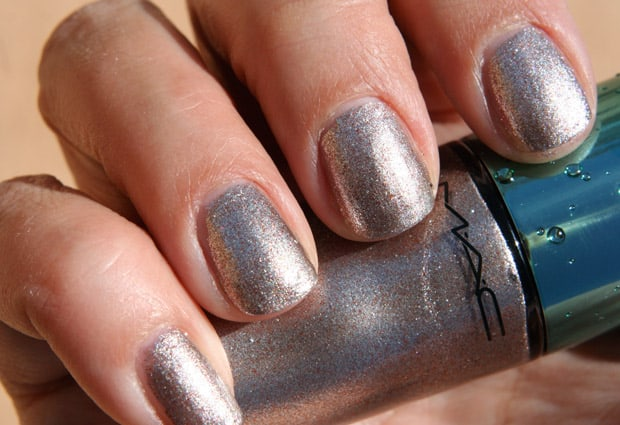 MAC Alluring Aquatics nail lacquer swatch 13 Heed The Siren Call of the MAC Alluring Aquatic Collection