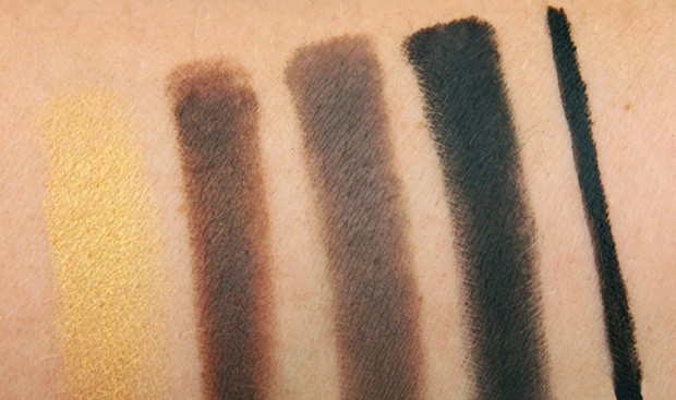 MAC Maleficent 15 eye shadow swatch  Even a heroine could be tempted by the MAC Maleficent collection!