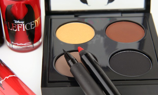 MAC Maleficent 2  Even a heroine could be tempted by the MAC Maleficent collection!