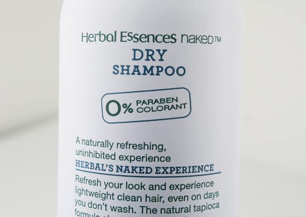 Herbal Essences Naked 4 Aim For High Style With The Bare Basics