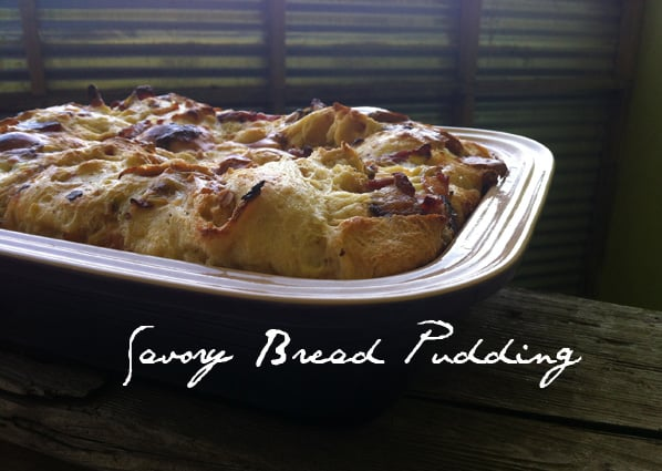 Savory Bread Pudding recipe 1 Savory Bread Pudding Recipe