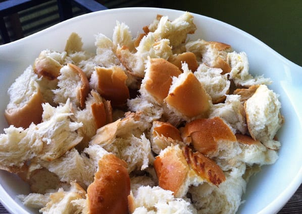 Savory-Bread-Pudding-Challah-Bread-pieces