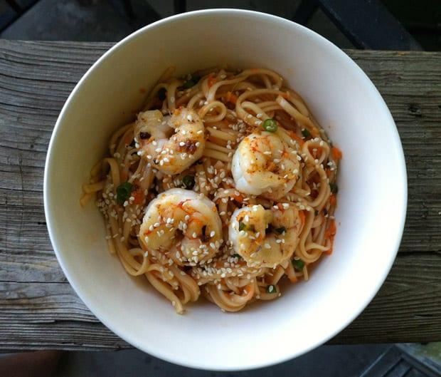 Cold Shrimp Noodles 2 Cold Shrimp Noodle Recipe
