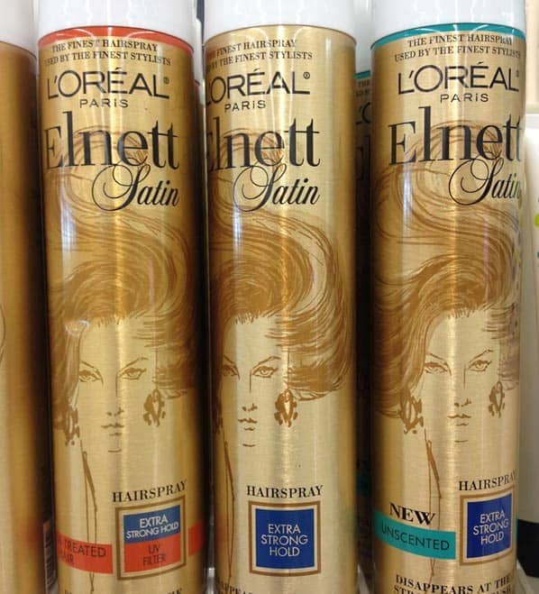 best hairspray loreal elnett Top Ten Tuesdays: Favorite Drugstore Products