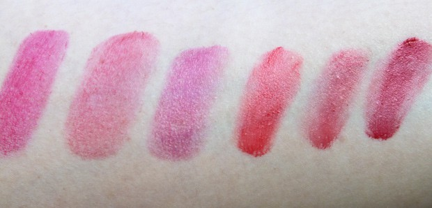 Josie Maran lip cheek oil swatches 5 Favorite Things   Kristas List