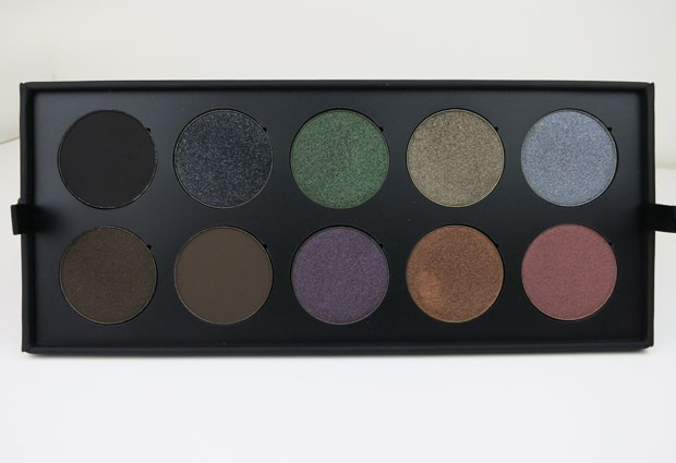 Make Up For Ever 30 Year artist shadow palette 12 MAKE UP FOR EVER artist shadow palette review
