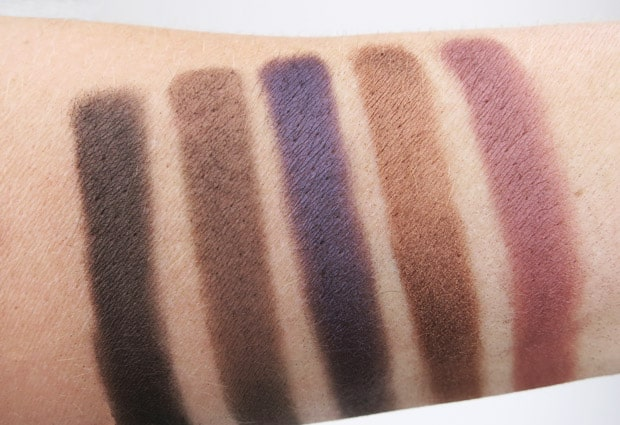 Make Up For Ever 30 Year artist shadow palette 14 MAKE UP FOR EVER artist shadow palette review