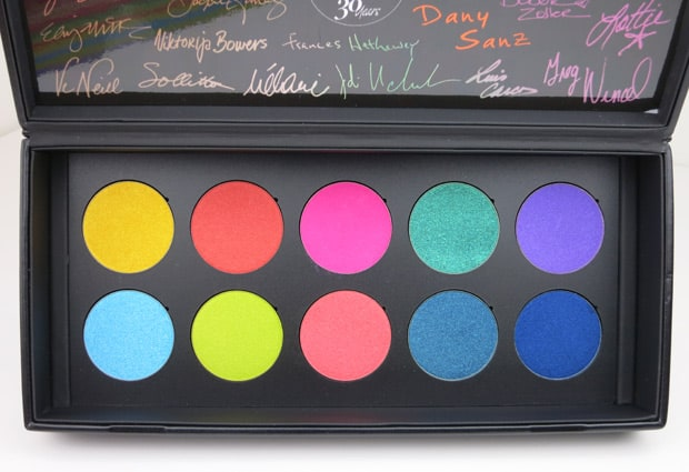 Make Up For Ever 30 Year artist shadow palette 16 MAKE UP FOR EVER artist shadow palette review