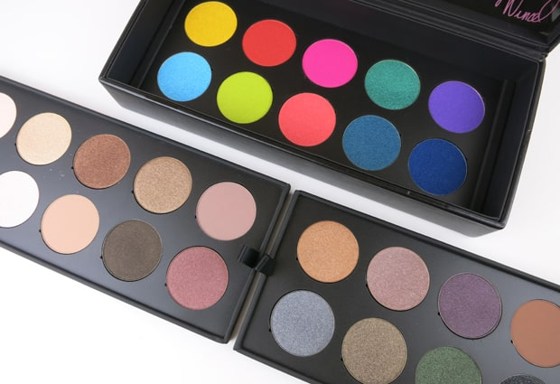 Make Up For Ever 30 Year artist shadow palette 2 MAKE UP FOR EVER artist shadow palette review