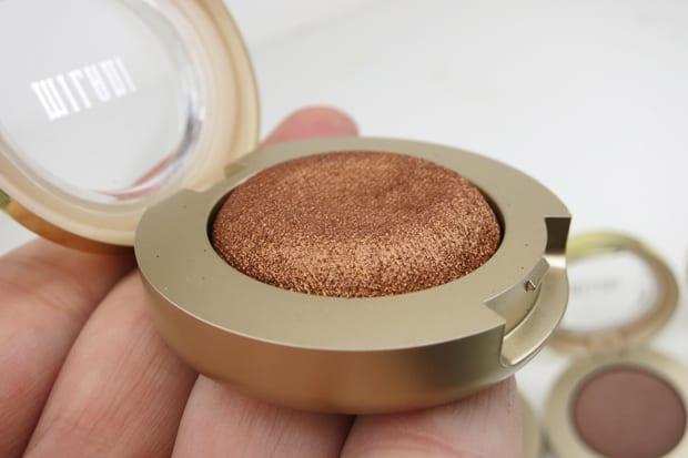 Milani bella eyes gel powder eyeshadow 4B We swatched all 30 Milani Bella Eyes Gel eyeshadows, for YOU!