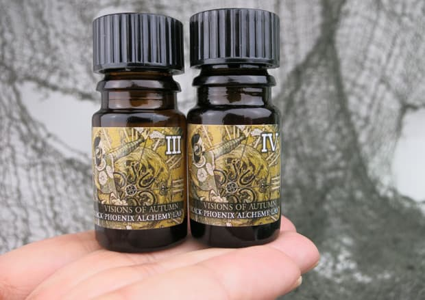 BPAL Halloween 2014 Visions of Autumn review G Win the Weenies: BPAL 2014 Halloween Giveaway