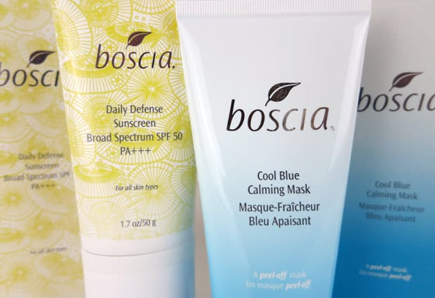 Boscia Cools Down Skin Under a Red Alert