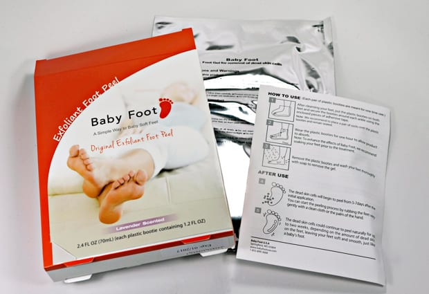 Does Baby Foot work 2 Baby Foot   Justice for your crime scene feet