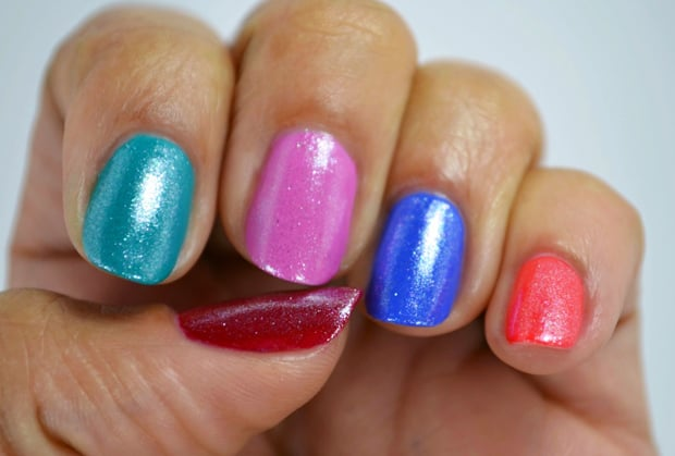 Milani Color Statement Nail lacquer Sugar Frosted Milani Color Statement Nail Lacquer Collection: Swatches and Review