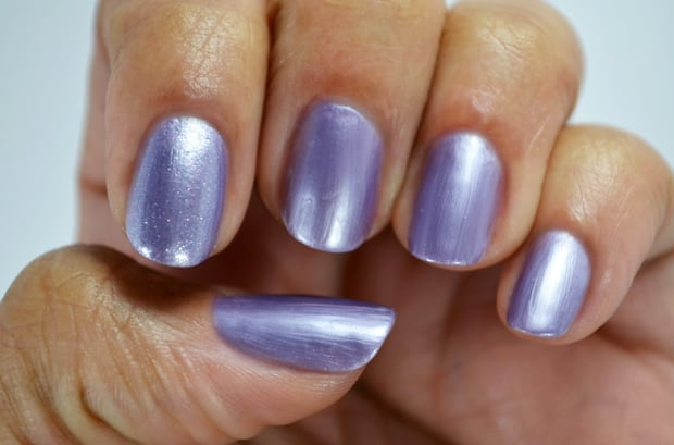 Milani Color Statement Nail lacquer purple frost Milani Color Statement Nail Lacquer Collection: Swatches and Review