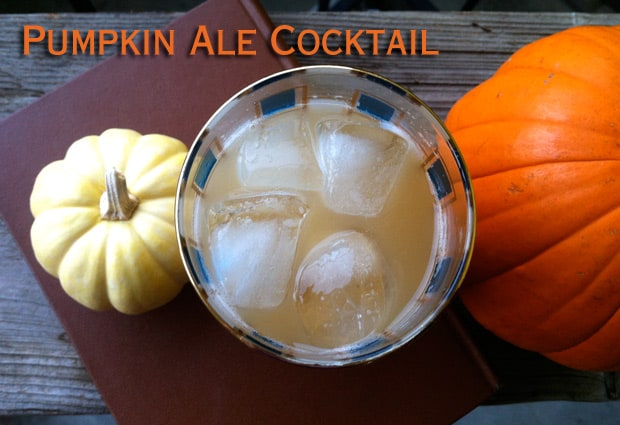 Pumpkin Ale cocktail recipes 1 The Easiest Halloween Cocktail Recipe Ever