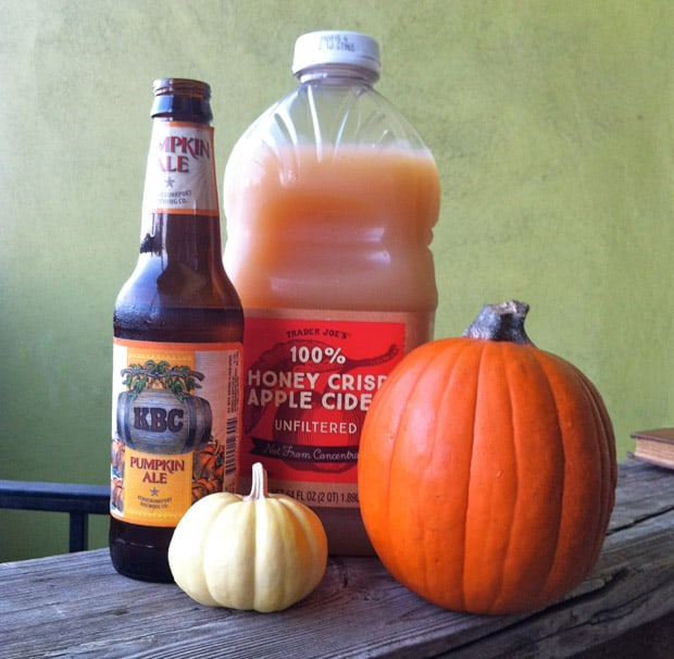 Pumpkin Ale cocktail recipes 2 The Easiest Halloween Cocktail Recipe Ever