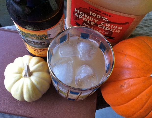 Pumpkin Ale cocktail recipes 4 The Easiest Halloween Cocktail Recipe Ever