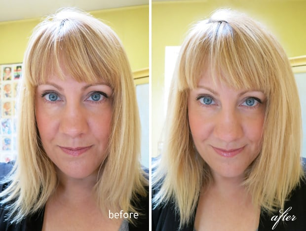 Voloom before and after Flat Hair? Meet Your New Best Friend; VOLOOM.