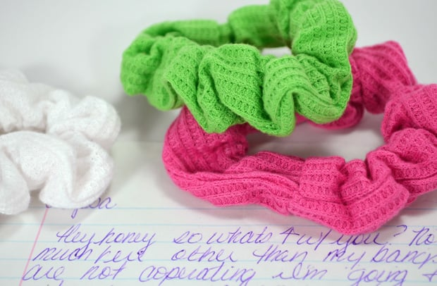 Caboodle beauty flashback scrunchies 2 90s Beauty Throwback: What Was in Your Caboodle?