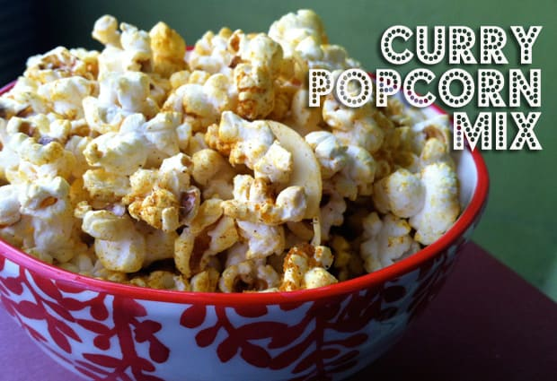 Curry Popcorn Recipe 1 From Our Easy Recipes File: Curry Popcorn Mix