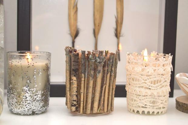 DIY Embellished Candle Holders 25B DIY Embellished Candle Holders