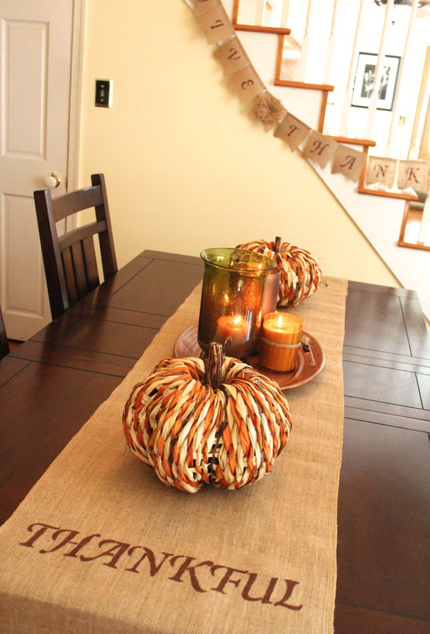 Thanksgiving easy diy projects
