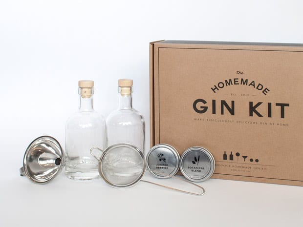 Cocktail Aficionado Gift Guide homemade gin kit Holiday Gift Guide: Cocktail Aficionado