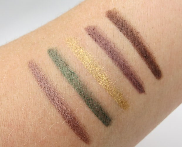 bareMinerals afternoon delights swatches 4 bareMinerals Afternoon Delight & I Love The Nightlife Holiday Sets