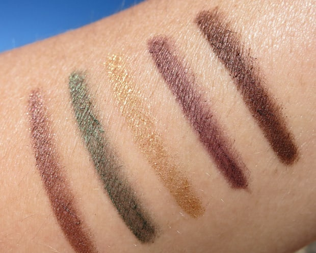 bareMinerals afternoon delights swatches 5 bareMinerals Afternoon Delight & I Love The Nightlife Holiday Sets