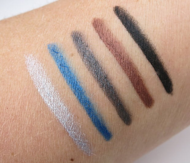 bareMinerals i love nightlife swatches 8 bareMinerals Afternoon Delight & I Love The Nightlife Holiday Sets