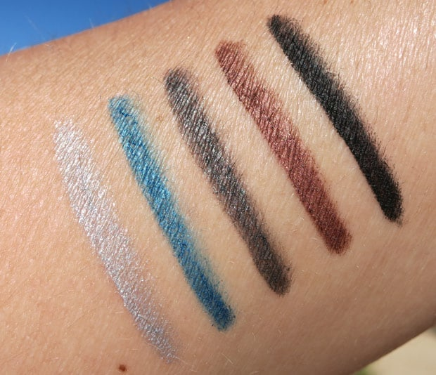bareMinerals i love nightlife swatches 9 bareMinerals Afternoon Delight & I Love The Nightlife Holiday Sets