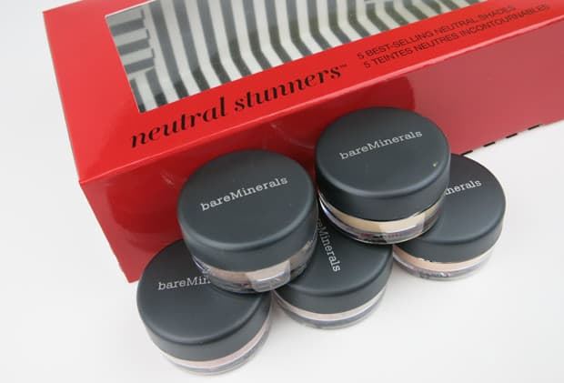 bareMinerals two for show 4 bareMinerals Two for the Show swatches and review