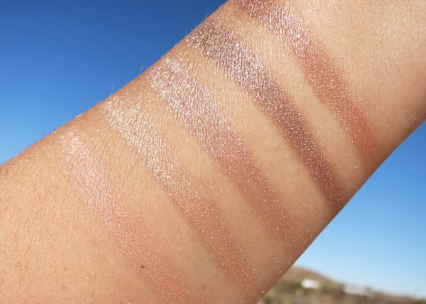 bareMinerals two for show swatches 12 bareMinerals Two for the Show swatches and review