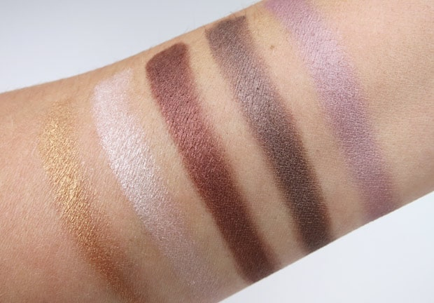 bareMinerals two for show swatches 18 bareMinerals Two for the Show swatches and review
